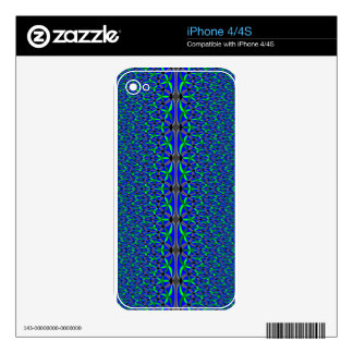 Aquatic Flowers Skin For The iPhone 4S