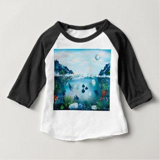 Aquatic Landscape Baby T-Shirt