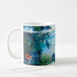 Aquatic Landscape Coffee Mug