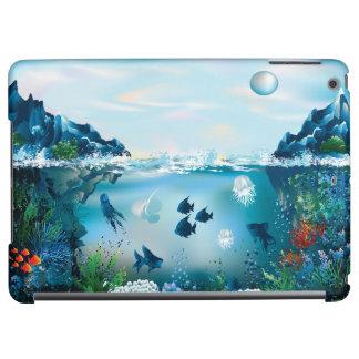 Aquatic Landscape Cover For iPad Air