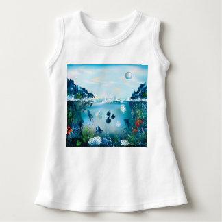 Aquatic Landscape Dress