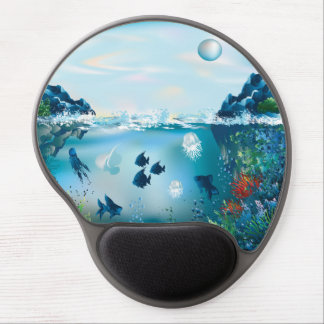 Aquatic Landscape Gel Mouse Pad