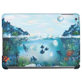 Aquatic Landscape iPad Air Cover