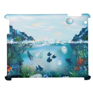 Aquatic Landscape iPad Cover