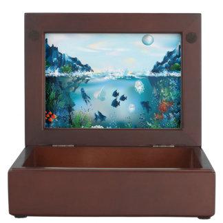 Aquatic Landscape Memory Box