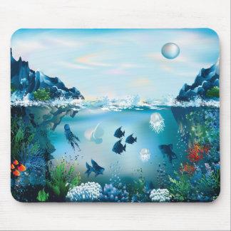 Aquatic Landscape Mouse Pad