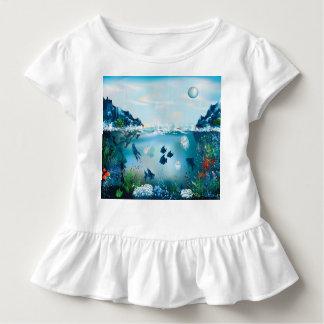 Aquatic Landscape Toddler T-shirt