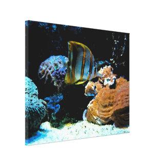 Aquatic Landscape - Wrapped Canvas