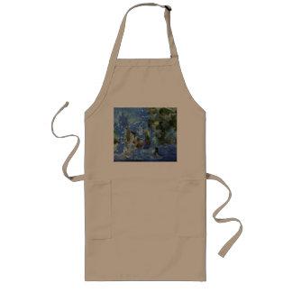 Aquatic life long apron