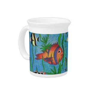 aquatic life beverage pitchers