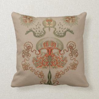 Aquatic Life ~ Haeckel ~ Jellyfish Cushions Pillow