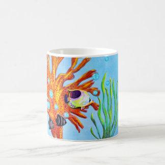 Aquatic Life Classic White Coffee Mug