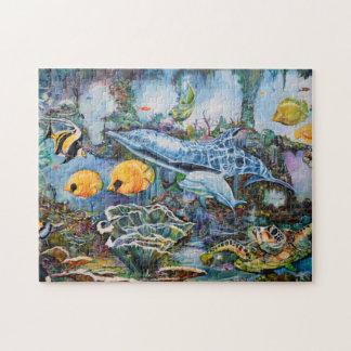 Aquatic life puzzle