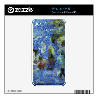 Aquatic life skin for iPhone 4