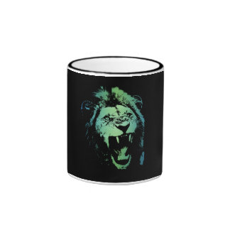 Aquatic Lion Mug