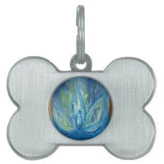 Aquatic Lotus Pet Tags