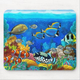 Aquatic mouse pad