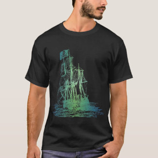 Aquatic Pirate Ship T-Shirt