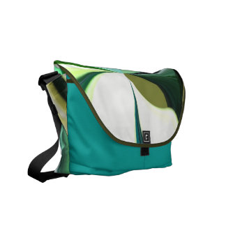 Aquatic Savannah Messenger Bags
