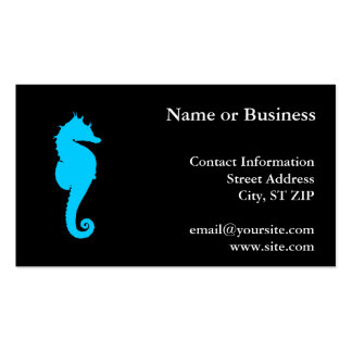 Aquatic Seahorse Double-Sided Standard Business Cards (Pack Of 100)