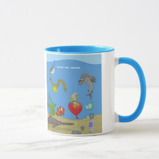 Aquatic Thrill Seekers Mug