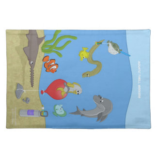 Aquatic Thrill Seekers Placemat