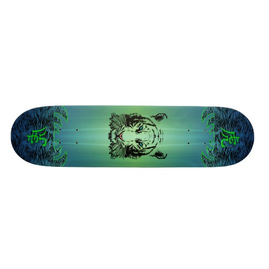 Aquatic Tiger Skateboard