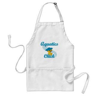 Aquatics Chick #3 Adult Apron