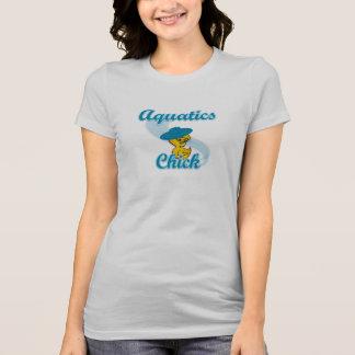 Aquatics Chick #3 T-Shirt