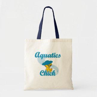 Aquatics Chick #3 Tote Bag