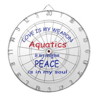Aquatics is my religion dart boards