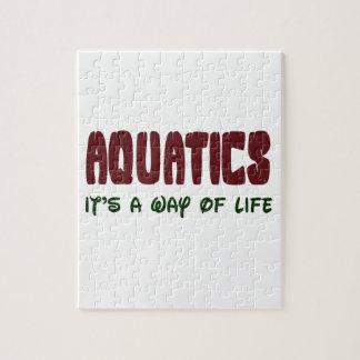 Aquatics It's a way of life Jigsaw Puzzle