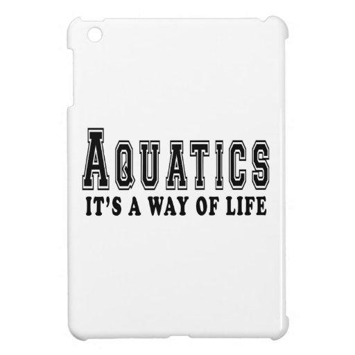 Aquatics It's way of life iPad Mini Case