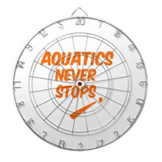 Aquatics Never Stops Dart Board