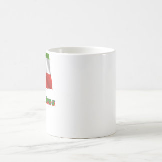 Äquatorialguinea Fliegende Flagge, deutscher Name Coffee Mug