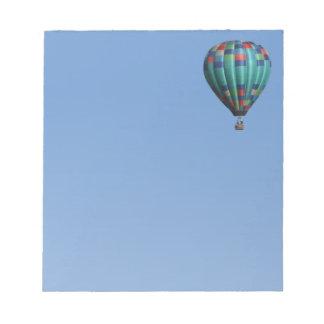 Aquatude Hot Air Balloon Notepad