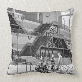 Aqueduct Architecture Throw Pillows