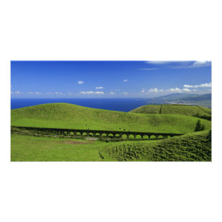 Aqueduct - Azores islands Photo Card