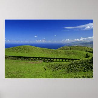 Aqueduct - Azores islands Poster