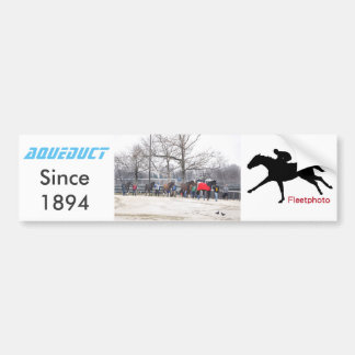 Aqueduct CALL TO THE POST Bumper Sticker