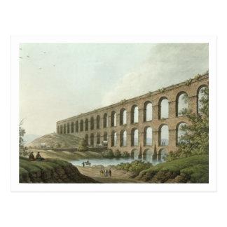 Aqueduct near Belgrade, Serbia, plate 6 from 'View Postcard