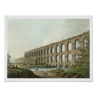 Aqueduct near Belgrade, Serbia, plate 6 from 'View Poster