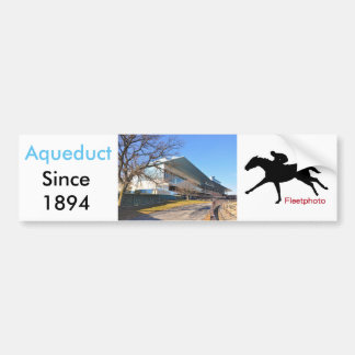 Aqueduct Racetrack on New Year's Day Bumper Sticker