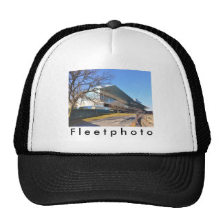 Aqueduct Racetrack on New Year's Day Mesh Hats