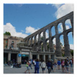 Aqueduct, Segovia, Spain Print