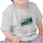Aquí aquí camisa del niño del fishie del fishie