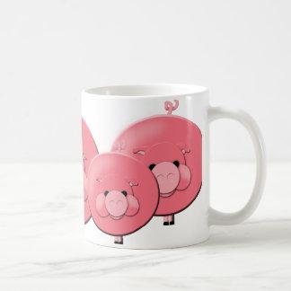 """""""Aquí cerdo, cerdo, cerdo!"""" Taza"""