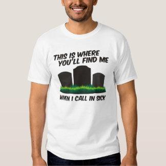 Aquí es donde usted me encontrará camisas