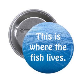 Aquí es donde vive el pescado pins