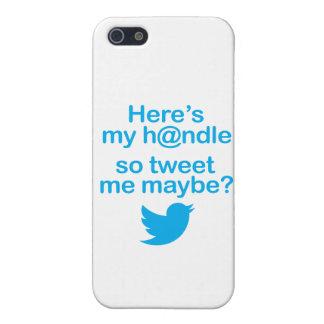 ¿Aquí está mi H@ndle así que pia quizá? caso del i iPhone 5 Funda